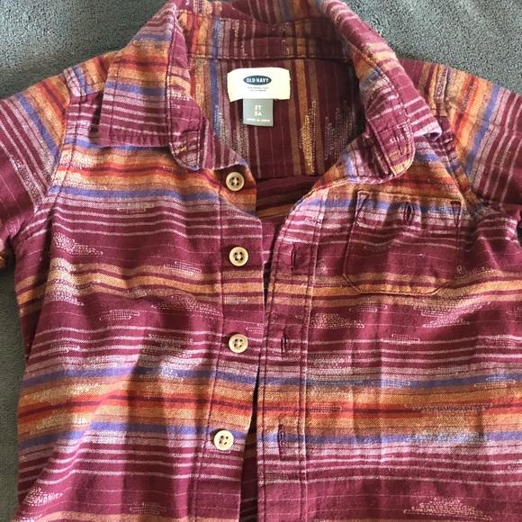 cdb3c28b Old Navy Shirts & Tops | Toddler Boys Long Sleeve Shirt | Poshmark